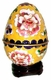 Chinese Cloisonne Egg - Flowers #20