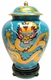 Chinese Cloisonne Jar - Dragon #5