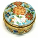 Chinese Cloisonne Jewelry Box #1