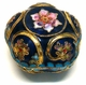 Chinese Cloisonne Jewelry Box #17