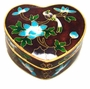 Chinese Cloisonne Jewelry Box #19