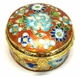 Chinese Cloisonne Jewelry Box #21