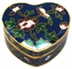 Chinese Cloisonne Jewelry Box #23