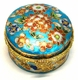 Chinese Cloisonne Jewelry Box #9