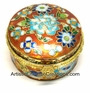 Chinese Cloisonne Jewelry Boxes