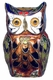 Chinese Cloisonne Owl #34