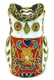 Chinese Cloisonne Owl #38
