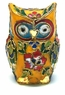 Chinese Cloisonne Owl #39