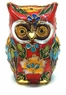 Chinese Cloisonne Owl #40