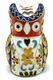 Chinese Cloisonne Owl #44