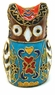 Chinese Cloisonne Owl #45