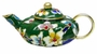Chinese Cloisonne Teapot - Flowers #18