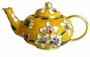 Chinese Cloisonne Teapot - Flowers #22