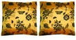 Chinese Cushion Covers - Flowers (Pair) #31