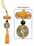 Chinese Feng Shui Knots - Safe & Sound / Lucky Coin #68