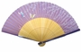 Chinese Folding Fan - Butterflies & Flowers  #225