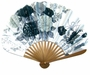 Chinese Folding Fan - Flowers #220