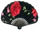 Chinese Hand Fan - Flowers #50