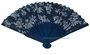 Chinese Hand Fan - Flowers #17