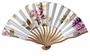 Chinese Hand Fan - Flowers #214