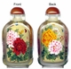 Chinese Inside Painted Snuff Bottle - Butterflies & Peony #69