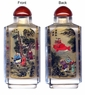 Chinese Inside Painted Snuff Bottle - Chinese Ancient Story #35