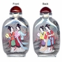 Chinese Inside Painted Snuff Bottle - Chinese Beauties #65