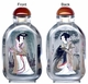 Chinese Inside Painted Snuff Bottle - Chinese Beauties #66