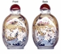 Chinese Inside Painted Snuff Bottle - Cranes & Pine Tree #30