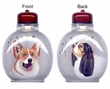 Chinese Inside Painted Snuff Bottle - Dogs #50