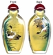 Chinese Inside Painted Snuff Bottle - Ducks / Happy Couple #2