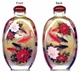 Chinese Inside Painted Snuff Bottle - Fish & Peony #44