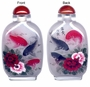 Chinese Inside Painted Snuff Bottle - Fishes & Peony #19