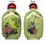 Chinese Inside Painted Snuff Bottle - Happy Couple #29