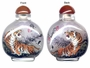 Chinese Inside Painted Snuff Bottle - Tiger #57
