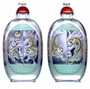 Chinese Inside Painted Snuff Bottle - Tigers #42