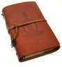 Chinese Leather Journal - Yoga - Brown #32