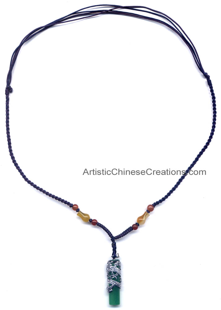 Chinese necklace chinese dragon jade pendant chinese jade click to enlarge chinese necklace chinese dragon jade pendant aloadofball Gallery