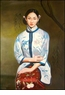 Chinese Oil Painting - Maiden #54