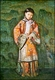Chinese Oil Painting - Qing Dynasty Princess