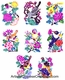 Chinese Paper Cuts - Magpie / Happiness (Set of 8) #311