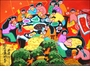 Chinese Peasant Painting - Holiday #42