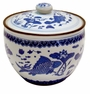 Chinese Porcelain Jar - Fish & Lotus #1