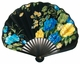 Chinese Hand Fan - Flowers #23