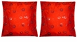 Chinese Silk Cushion Covers - Flowers #14 (pair)