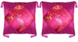 Chinese Silk Cushion Covers - Flowers (pair) #11