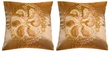 Chinese Silk Cushion Covers - Flowers (Pair) #33