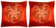 Chinese Silk Cushion Covers - Flowers (Pair) #35
