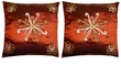 Chinese Silk Cushion Covers - Flowers (Pair) #36