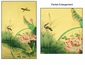Chinese Silk GongBi Painting - Birds & Lotus #22